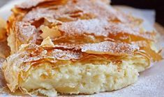 """bakery products- выпечка Greek cake """"Bugats"""" The north of Greece is especially popular among tourists for a number of reasons. One of them is local cuisine. What could be better than enjoying amazing food and amazing nature while relaxing … - Cookie Recipes, Dessert Recipes, Desserts, Greek Cake, Romanian Food, Something Sweet, Cake Cookies, Bakery, Food And Drink"""