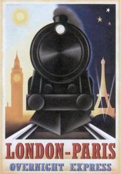Paris - London - Overnight Express
