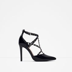ZARA - WOMAN - HIGH HEEL SHOES WITH STUDS
