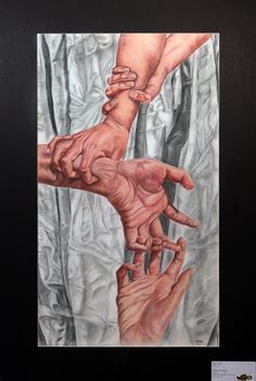 colored pencil art by Andrea Hegedus, an award winner at Parkland High School in Allentown, PA Ap Drawing, High School Art Projects, Ap Studio Art, Arts Award, A Level Art, Color Pencil Art, Ap Art, Portraits, Art Classroom