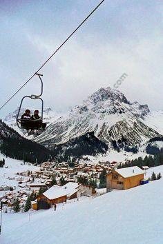 Lech am Arlberg ski region The Alps Austria photograph picture print by AE Photo