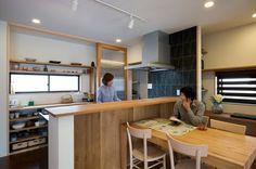 キッチン背面収納造作 - Google 検索                                                                                                                                                      もっと見る