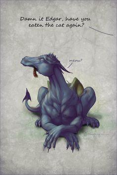 CassiopeiaArt..... Cute dragon....