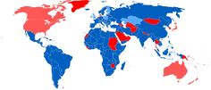 - Observance of International Workers Day.Dark Blue: Labour...
