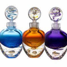 3 flacons Prestige cristal & or