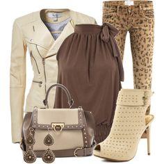 ■ Rockin Leopard Skinny Jeans #skinnyheels