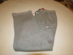 Mens Nike sweat pants 598867 heather grey 063 2XL XXL Slim fleece sport casual #Nike #sweatpants
