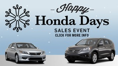 Our year end clearance is going on now during Happy Honda Days! Visit http://www.herbchambershondaofseekonk.com or call (508)336-7100 for a Honda or used car quote.
