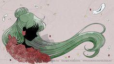 Sailor Pluto by SM Crystal title card Sailor Pluto, Sailor Moom, Sailor Moon Manga, Sailor Moon Art, Sailor Jupiter, Sailor Moon Crystal, Sailor Scouts, Luna Y Artemis, Anime Manga
