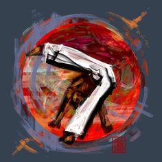 Encres : Capoeira – 545 [ #capoeira #digital #illustration]