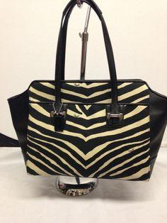 Coach Zebra Carryall Bag NWT #Coach #Satchel