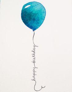 - Happy B-day Glückwünsche - Welcome My Crafts Happy Birthday Balloons, Happy Birthday Quotes, Happy Birthday Images, Happy Birthday Greetings, Birthday Pictures, Birthday Messages, Birthday Fun, Birthday Wishes, Happy Birthday Painting