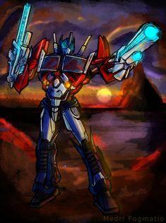Optimus Prime by MedriFogmatio