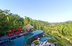 Balinese Villa, Rice Terraces, Plunge Pool, Stay The Night, Spa Treatments, Ubud, Sitting Area, Private Pool, Mountain View