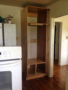 Plum Tree Place: Our DIY Double Oven Cabinet