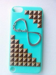 Shapotkina Punk Style DIY MP4 Music Player Case for iPod Touch 5 MP4 Player Protective Skin Blue case one Direction Case,infinity Directioner and Bronze Stud by Westlinke, http://www.amazon.com/dp/B00E98CH14/ref=cm_sw_r_pi_dp_buWTsb0XTH733