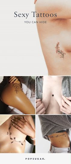 Sexy Tattoos You Can Hide | POPSUGAR Love & Sex