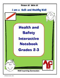 "Health and Safety habits are as easy as ABC!  This 28 page interactive notebook covers health and safety topics according to each letter of the alphabet. Students learn the ""abc's"" of many health and safety topics.  The activity book targets grades 2-3."