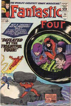 The Fantastic Four #38.