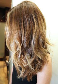 Oooo I like the cut!  I wonder if it would look ok straight too?