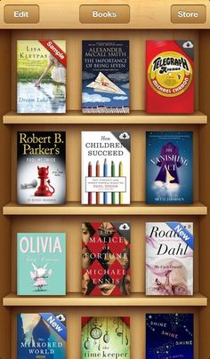 iBooks---got it