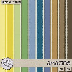 Amazing Striped Papers
