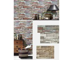 Wallpaper accent wall is a new trend and we at Designers Wallpaper have a solution - modern and stylish non-woven wallpaper from leading European designers for any taste and Brick Wallpaper Accent Wall, Stone Wallpaper, Accent Walls, Designer Wallpaper, Color Schemes, House Design, Modern, Designers, Home
