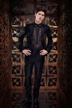 Roberto Cavalli Spring 2014 Men's Collection