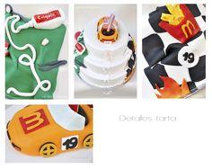 www.acaramelada.com, wedding, cake, amazing, españa, madrid, tarta, boda, awesome, mc donald, cars,
