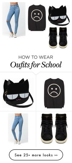 """Simple school"" by jemmybearxo on Polyvore"