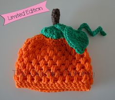 The Stitchin' Mommy: Crochet Pumpkin Hat (free pattern)