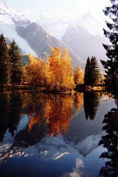 Le lac des Gaillands en automne | Flickr - Photo Sharing!