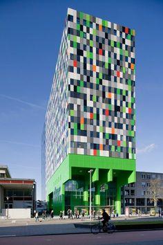 Smarties Student Housing, Utrecht, 2009 - Architectenbureau Marlies Rohmer