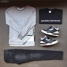 Mens Fashion Sneakers – The World of Mens Fashion Dope Outfits, Casual Outfits, Men Casual, Fashion Outfits, Men's Outfits, Fashion Trends, Latest Mens Fashion, Urban Fashion, Teen Boy Fashion