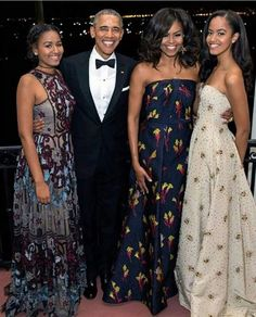 THIS IS WHAT #CLASS LOOK LIKE A Family #Portrait of the #ObamaFamily Grace the Cover of their 2017 Holiday Card #44thPresident #BarackObama #FirstLady #MichelleObama #FirstDaughters #MaliaObama & #SashaObama This was Malia & Sasha First State Dinner March 10, 2016. The dinner was held in honor of Prime Minister of Canada Justin Trudeau and his wife, Sophie Gregoire-Trudeau. #ObamaLegacy #TheObamas #Obama