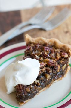 Pecan Pie with Bourbon and Ginger