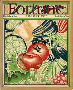 Fortune Magazine Covers — Real Old Art - Authentic Affordable Old Antique Maps & Prints American Illustration, Art Deco Illustration, Magazine Illustration, Print Magazine, Magazine Art, Magazine Covers, Vintage Drawing, Vintage Art, Fortune Magazine