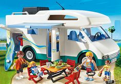 Summer Camper - 6671 - PLAYMOBIL® USA