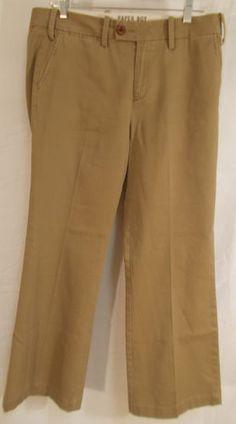$27.50 Sz 14 Paper Boy Khaki Pants Anthropologie Dressy Chino Trouser