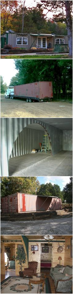 Container House - Container House - Home Built from Two Shipping Containers build-acontainerh... - Who Else Wants Simple Step-By-Step Plans To Design And Build A Container Home From Scratch?