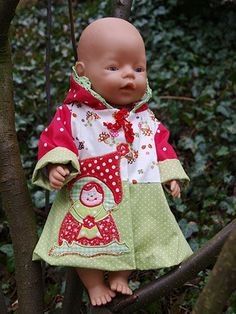 FREEBook TAJA Jacke, Mantel für Puppen