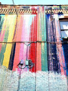 Katie Soloker Street Art #genart #color #streetart