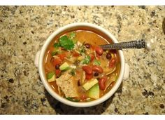 Southwestern Soup ~ sounds yummy!