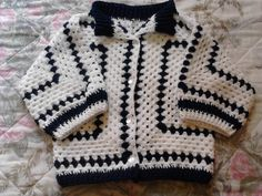 Crochet Baby Sweaters, Dress With Cardigan, Crochet Granny, Baby Wearing, Crochet Projects, Baby Items, Charity, Knitting, Pattern