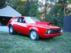 1972 AMC Gremlin with I had a classmate in highschool that had one hot rodded like this Jeep, Amc Gremlin, American Motors, Unique Cars, Hot Rides, Drag Cars, Gremlins, Car Humor, Drag Racing