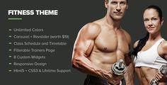 Fitness - Themeforest Premium Gym Wordpress Theme - Moviescracky