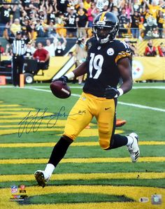 52918e231dd JuJu Smith-Schuster Autographed 16x20 Photo Pittsburgh Steelers Beckett BAS  Stock  130745