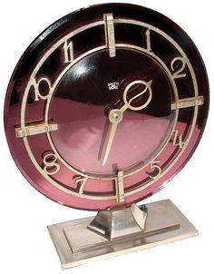 Art Deco Modernist Clock