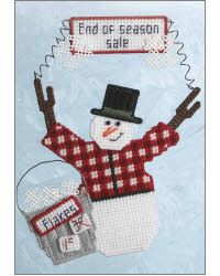 Plastic Canvas For Sale | Everything Plastic Canvas - Snowflake Clearance Sale