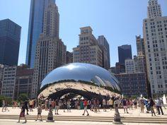 Cloud Gate in Chicago, IL